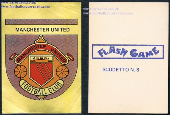 1970s Lampo Flash shiny Man Utd ITALY